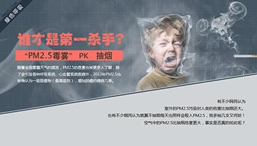抽烟 VS PM2.5,哪个对人体危害更大