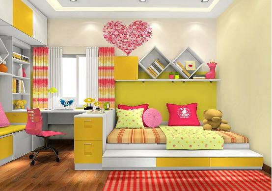 儿童房有甲醛了应该怎么办?怎么样才能够买到安全的儿童家具