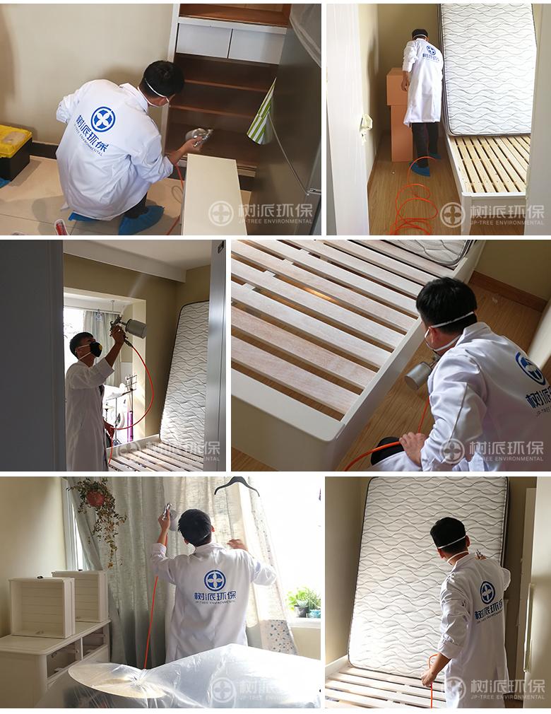 杭州除甲醛-树派环保室内空气治理-杭州·翠苑四区